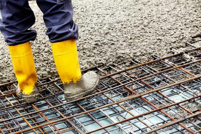 Comment faire le ferraillage d'une dalle en béton?
