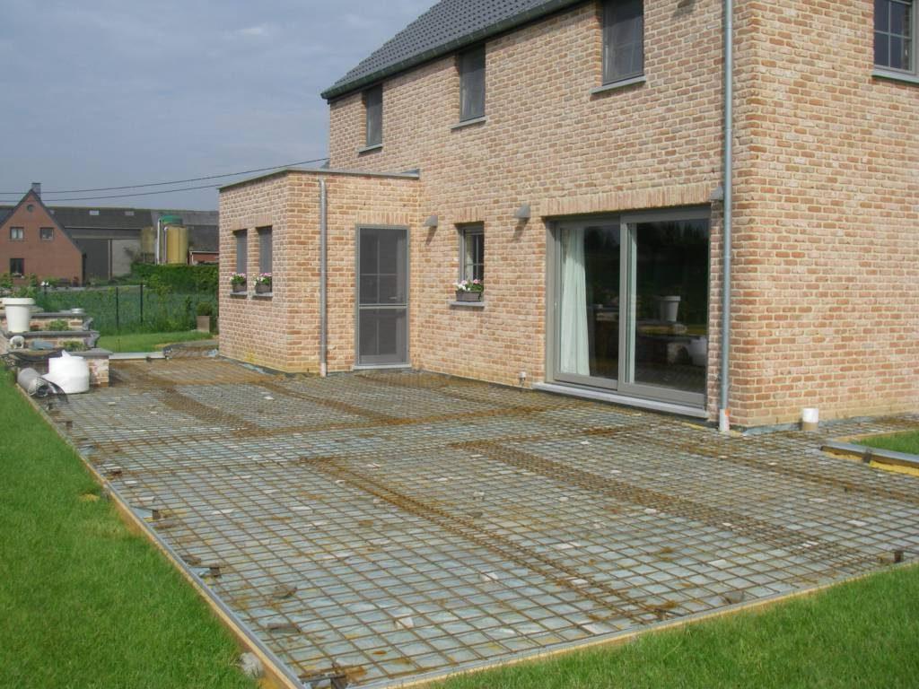 Avantages d'une dalle en beton avec ferraillage (armatures)