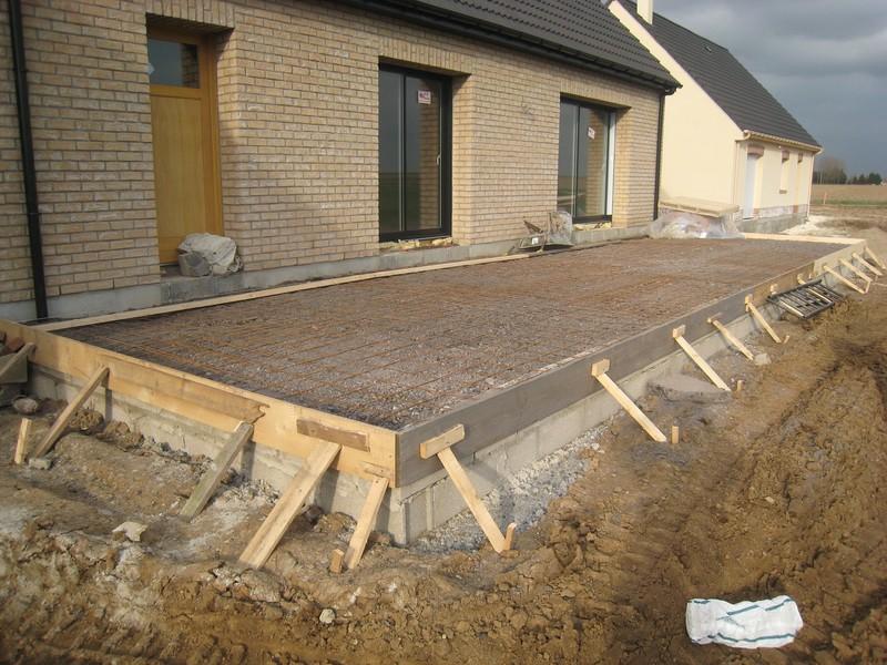 Calculer l'épaisseur d'une dalle de béton selon les travaux