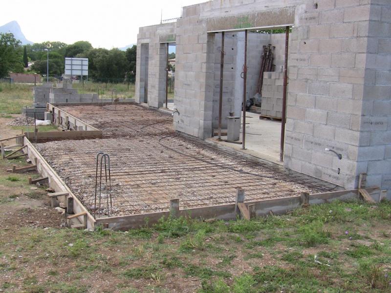 ferraillage beton terrasse