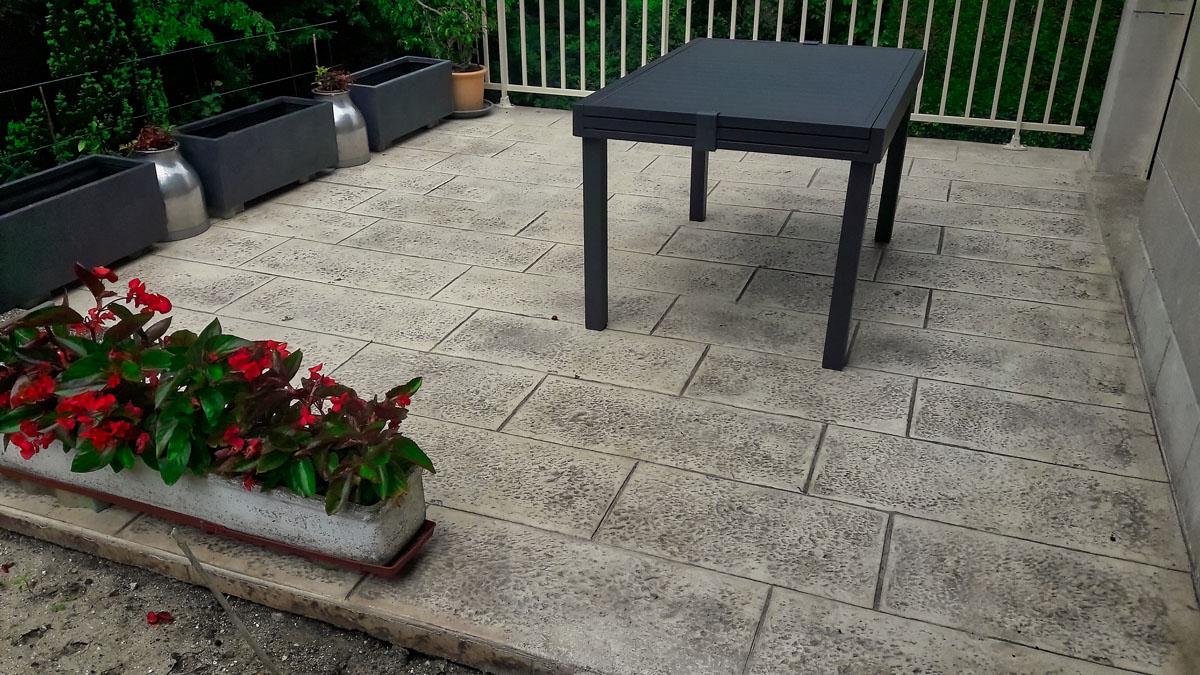 Comment Fabriquer Une Terrasse En Beton comment faire une terrasse en béton? prix - type - pavebéton