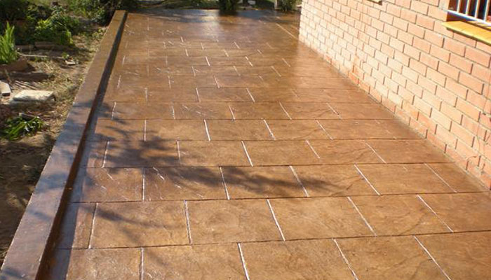 beton avec texture