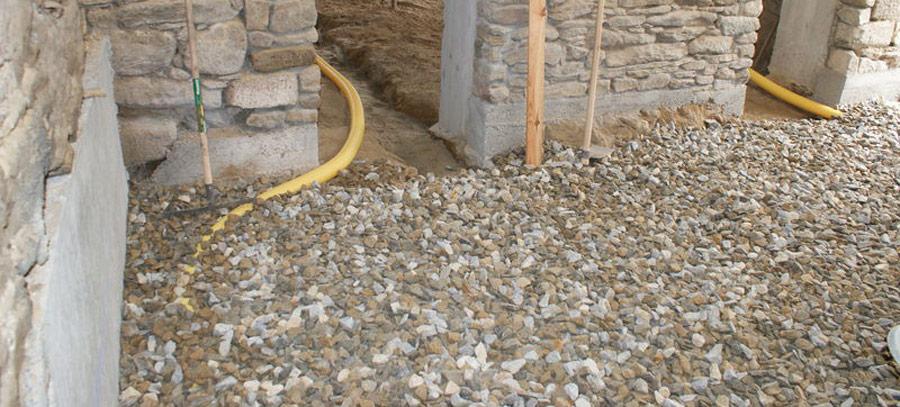 Comment faire une dalle en béton sur hérisson?