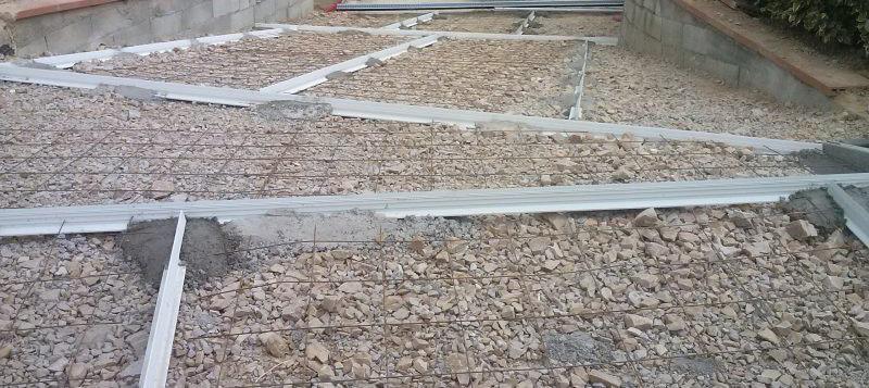 Joints de dilatation du béton  PVC