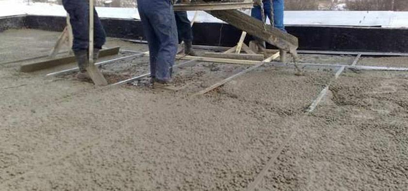 usage du beton maigre