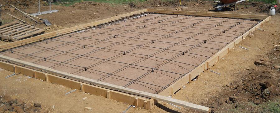 Comment faire une dalle en béton pour un abri de jardin? - PaveBéton