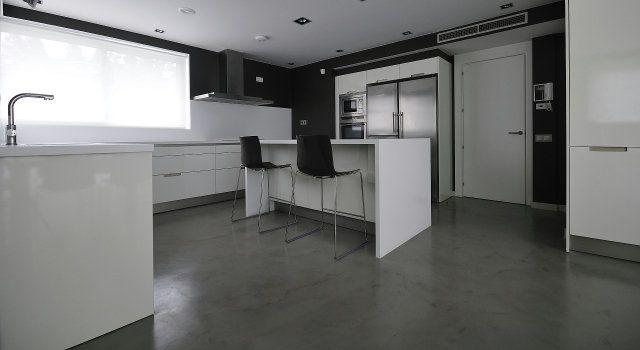 Béton ciré en interieur