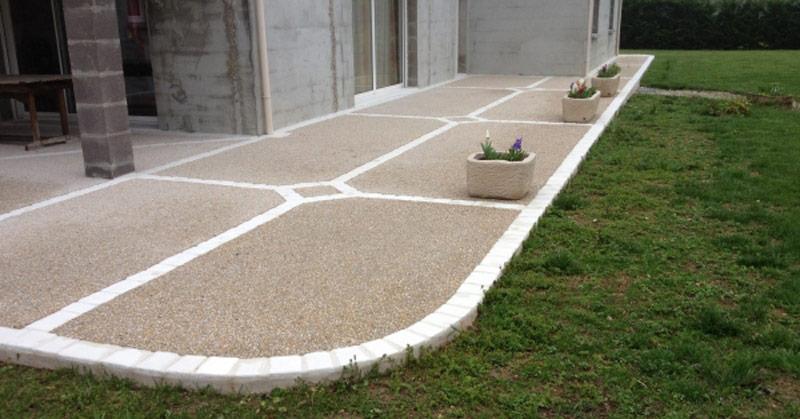 Quel est le Prix d'une terrasse en béton de 60 m2?