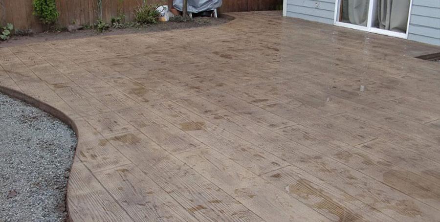 tarif terrasse beton imitation bois