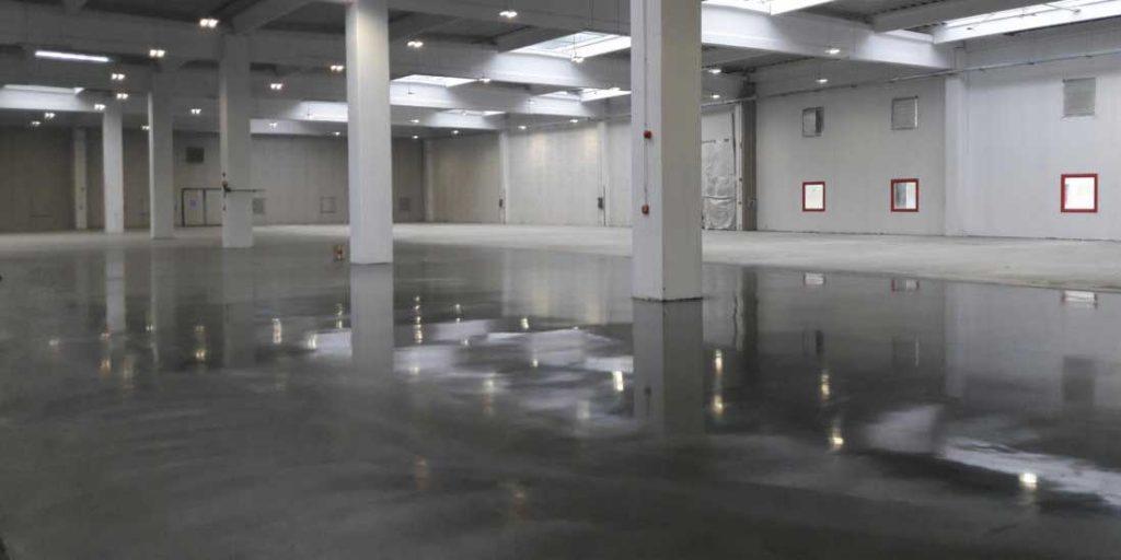 sol béton pour garage