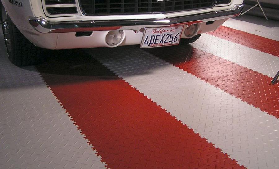 dalles en PVC pour sol de garage