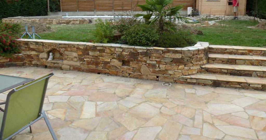 pierre naturelle revetement pour terrasse