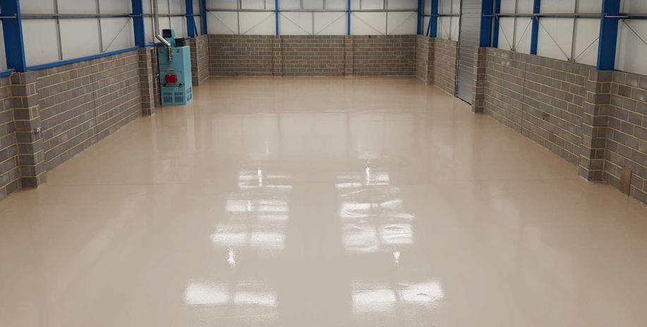 Les revêtements de sol en résine époxy pour un garage