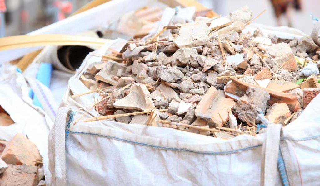 prix évacuation de gravats en big bag