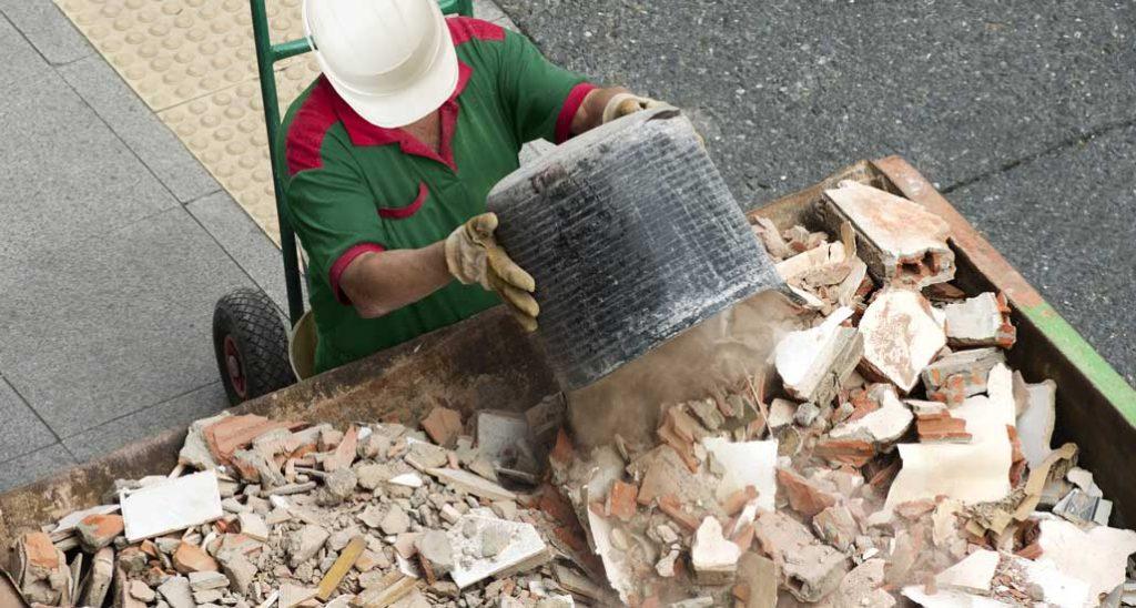 prix évacuation de gravats d'un chantier