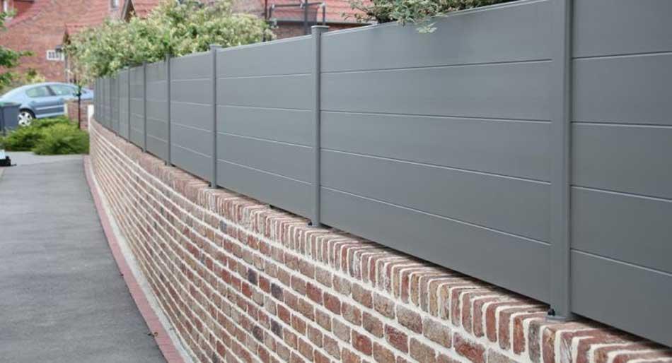 Prix mur de clôture en briques