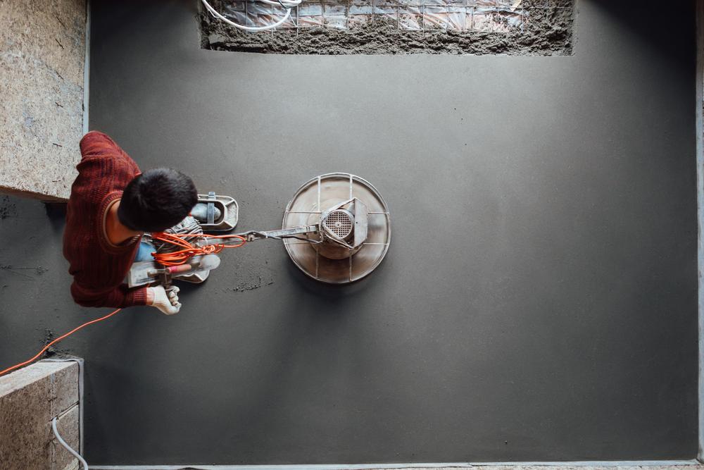prix par metre carre pour faire une chape de beton