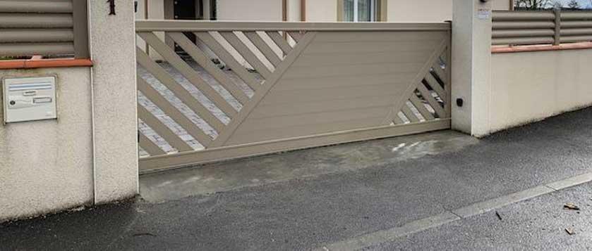 seuil portail en beton