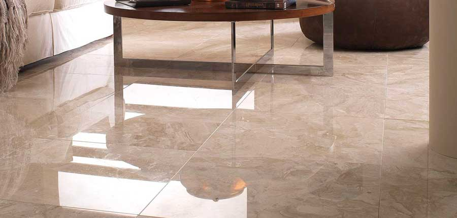 revêtement de sol en marbre